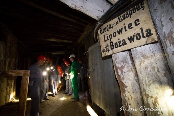 Trasa Górnicza w Kopalni w Wieliczce